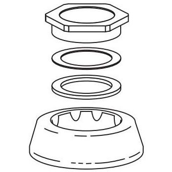 "SLOAN F-5-A 1-1/2"" SPUD COUPLING ASSEMBLY (0306146)"
