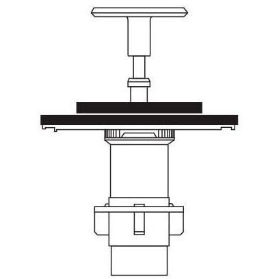 SLOAN A-1101-A REBUILD KIT 1.6 gpf/6.0 Lpf CLOSET EXPOSED (3301070)