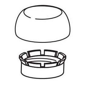 SLOAN H-1010-A STOP CAP KIT 1