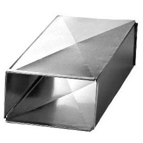 "SOUTHWARK 48"" E-LOCK DUCT 22 X 10 (2 PCS PER SECTION)      **ADD (2) 10"" DRIVE CLEATS**      **ADD (2) 22"" ""S"" CLEATS**"