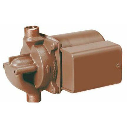 TACO 006-BC7-1IFC BRONZE CIRCULATOR W/ INTEGRAL FLOW CHECK, 1/2