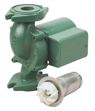 TACO 007-SF5 STAINLESS 1/25HP 115V 1SP CIRCULATING PUMP (REPLACES BRONZE 007BF5)