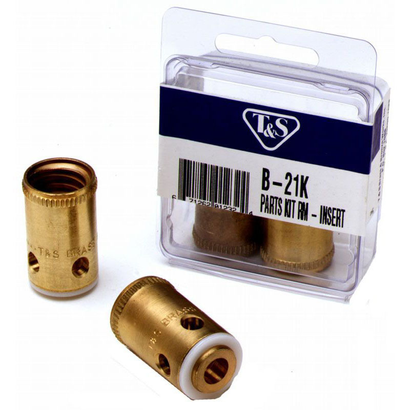 T&S BRASS B-21K PARTS KIT FOR ETERNA REMOVABLE INSERT ASSEMBLY (HOT & COLD)