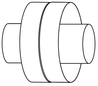 //WSL// UNICO UPC-38C-10 SUPPLY DUCT COUPLING (SOLD PER EACH) MC48217