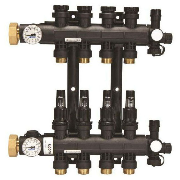 WIRSBO A2670201 EP HEATING MANIFOLD WITH FLOW METER 2-LOOP (ENGINEERED POLYMER) MC313580