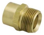 WIRSBO A4332075 QS-STYLE COPPER ADAPTER R20 X 3/4 COPPER