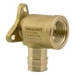 WIRSBO (LFC) LF4235050 PROPEX DROP EAR BRASS ELBOW 1/2