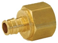 WIRSBO LF4577575 PROPEX BRASS FEMALE ADAPTER 3/4