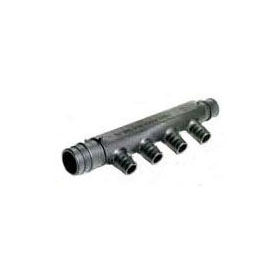 WIRSBO Q2247557 3/4X3/4 EP 4-OUTLET FLOW-THROUGH MANIFOLD, PROPEX (ENGINEERED POLYMER)