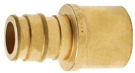 WIRSBO Q4516375 PROPEX BRASS ADAPTER 5/8