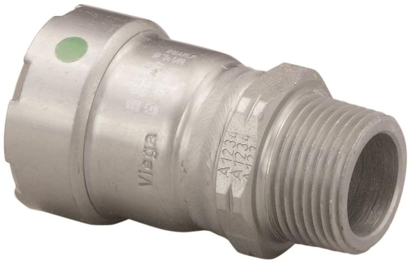MEGAPRESS 25100 Male Adapter, P x M NPT, 1/2