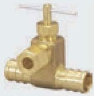 VIEGA 46521 ICE MAKER VALVE KIT CRIMP TEE 1/2 PEX X 1/4OD NO LEAD (REPLACES 40524) (WHEN OUT NO LONGER AVAILBLE)