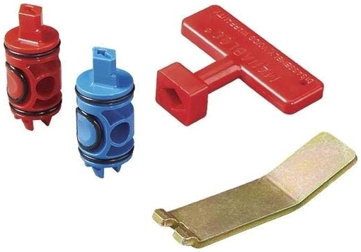 //WSL// VIEGA 51602 REPLACEMENT KIT: RED VALVE, BLUE VALVE, VALVE REMOVAL TOOL, T-HANDLE VALVE KEY
