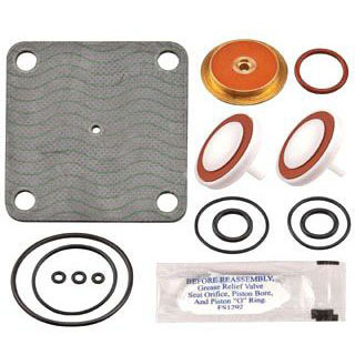 WATTS LFRK 909-RT 3/4-1 BACKFLOW RUBBER REPAIR KIT (0794069) (REPLACES 0887130)