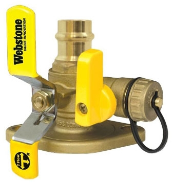 "WEBSTONE 81413HV 3/4"" PRO-CONNECT PRESS PUMP FLANGE W/ROTATING FLANGE & MULTI-FUNCTION DRAIN, QTY OF 1"