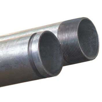 STD GALV PIPE T&C 1-1/4""