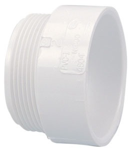 "Fig K030500 1-1/2"" X Hubxmpt 2000Psi Pvc Adapter"
