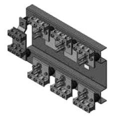 MILB K5930 CT RACK 3PH4W 800A 50K W/LUGS