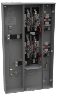 MILB U4372-XT-5T9-AMS 125/200A RES W/BRKR PROV 2POS VERTICAL