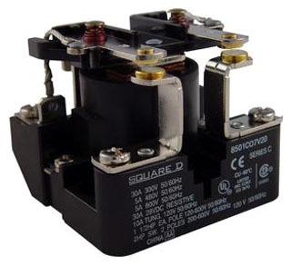 SQD 8501CO7V20 120V RELAY