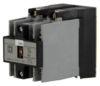 SQD 8501XO30V02 RELAY 600VAC 10AMP NEMA +OPTIONS