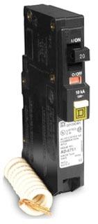 SQD QO120CAFI 1P 20A COMB ARC-FAULT CIRCUIT BREAKER 120V