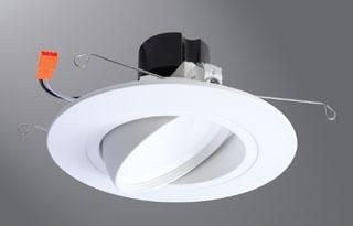 HALO RA5606927WH LED ADJ WHITE BAFFLE 90CRI 2700K