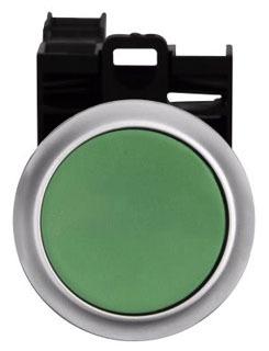 M22-D-G-K11-P GREEN FLUSH MOMETARY PUSH BUTTON 1NO/1NC POP QTY 1