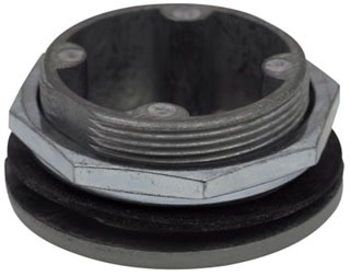 10250TA7 PANEL HOLE PLUG ROUND 30.5MM MATERIAL-STEEL COLOR-GRAY QTY 1