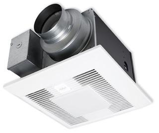PAN FV05-11VKSL1 50-80-110 CFM WHISPERGREEN SELECTO FAN/LED LIGHT W/DC MOTOR (LED LAMPS INCLUDED)