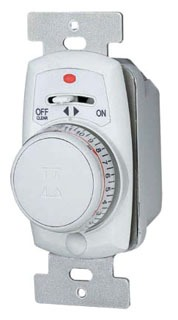 EJ351C ELECTRONIC PROGRAMMABLE IN WALL TIMER UP TO 24 ON/OFF SETTINGS WHITE QTY 1