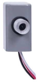 EK4036S 1800 WATT BUTTON PHOTO CELL 6 AMPS ELECTRONIC FOR USE WITH LED FIXTUE 120-277V QTY 1