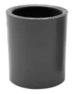 078005 1 1/2 PVC COUPLING CP15 EC30 150PVCCOUP 6141627 (CANTEX) QTY 1/25