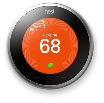 T3008US Nest Learning Thermostat 3rd Gen 854448003884