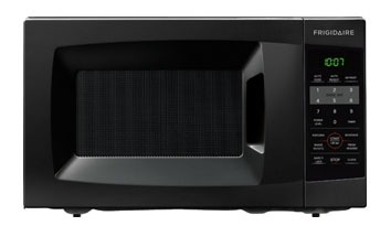 <D> FRIGIDAIRE FFCM0724LB MICROWAVE 17 .7CF COUNTERTOP SIDE CONTROL-PUSH BUTTON-700W-9 5/8 TURNTABLE BLACK