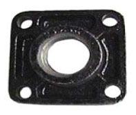 """Walrich 1751012 3/4"""" Cast Iron Boiler Dirt Pocket Cap"""