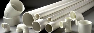 "6"" X 20' Plainxplain 40S White Dwv Pvc Foam Core Pipe"