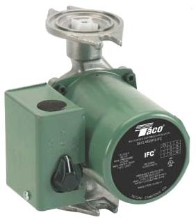 1051990 0015-MSF3-IFC 1/20HP TACO 3 SPD PUMP