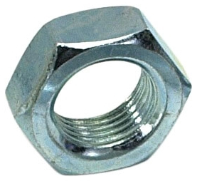 "N04-28A 1/4""-28 TPI, 5/32"" Thk x 7/16"" Across Flat, Hex, Cylinder Stud Nut"