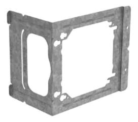 CAD C23 BOX MOUNTING BRACKET, 3-5/8 & 2-1/2 IN. STUDS