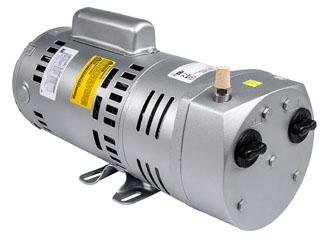0523-101Q-G588NDX 1/4 HP, 1-Phase, 4.5 CFM, 1425/1725 RPM, 10 PSI, Rotary Vane Vacuum Pump and Compressor