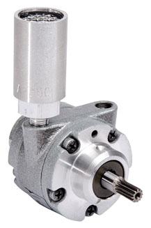 "1AM-NRV-63A 1.24"" x 4.25"", 0.45 HP, 5.6 Lb-Inch, 1000 RPM, 20.5 CFM, Reversible, Multi-Vane, Air Motor"
