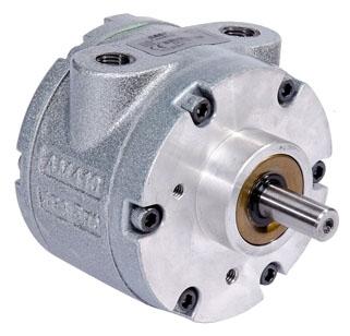"4AM-NRV-22B 4.06"" x 5.81"", 1.7 HP, 56 Lb-Inch, 3000 RPM, 78 CFM, Reversible, Multi-Vane, Air Motor"