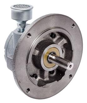 """4AM-NRV-50C 6.5"""" x 6.69"""", 1.7 HP, 56 Lb-Inch, 3000 RPM, 78 CFM, Reversible, Multi-Vane, Air Motor"""