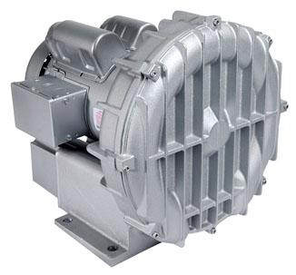 "R4P315A 1-1/2"", 3-Phase, 208 to 230/460 VAC, 2.348 PSI, 3450 RPM, 1.5 HP, Aluminum, Centrifugal, Regenerative Blower"