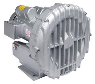 "R5325A-2 1-1/2"", 3-Phase, 208 to 230/460 VAC, 2.348 PSI, 3450 RPM, 2.5 HP, Aluminum, Centrifugal, Regenerative Blower"