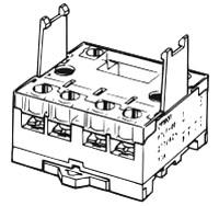 P7LF-06 55.5 MM x 46 51.5 MM, Front Mount, Power Relay Socket