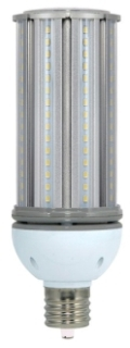 S9393 45 WATT LED CORN COB STYLE LAMP E39 BASE EQUAL TO A 175W MH LAMP 5000K 100-277V QTY 1