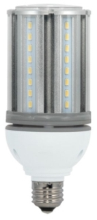 S9390 18W/LED/HID/5000K/100-277V 18 WATT 100/277 VOLT MEDIUM SCREW (E26) BASE 5,000K LED CORN LAMP 70W HID EQUAL QTY 1