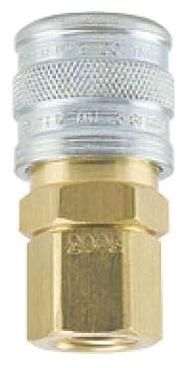 "3003 1/4"", Socket x FPT, Brass/Steel, 1-Way, Manual, Shut-Off Valve"